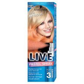 Schwarzkopf Live Pastel Spray Pastelový marhuľový 125ml končí