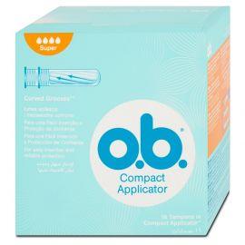 Tampóny O.b. Super s aplikátorom 16ks