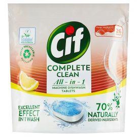 Cif Complete Clean Lemon 70% Naturally 26ks tablety do umývačky riadu