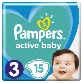 Pampers Active Baby plienky S3 15 ks  6-10kg