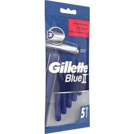 Gillette Blue II jednorázový strojček 5ks pánske sáčok