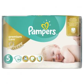 Pampers Premium Care 5 Junior 44ks 11-16kg