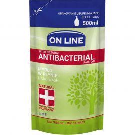 ON LINE Tea Tree Lime Antibakteriálne tekuté mydlo náhrada 500ml