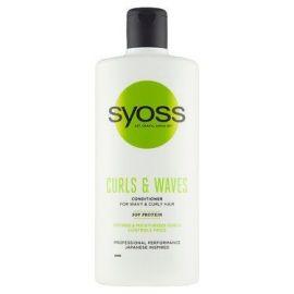 Syoss Curls & Waves kondicionér pre kučeravé vlasy 440ml