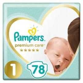 Pampers Premium Care S1 Newborn 78ks 2-5kg