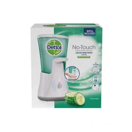 Dettol bezdotykový dávkovač mydla + Uhorka antibakteriálne tekuté mydlo 250ml