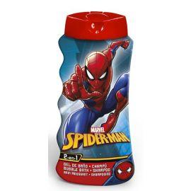 Lorenay Spiderman 2v1 detský sprchový gél a šampón na vlasy 475ml