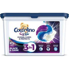 Coccolino Care 3v1 40 praní Black&Dark kapsule na pranie