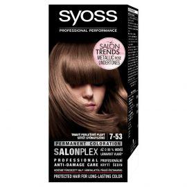 Syoss Color 7-53 Tmavá Perleťová Blond farba na vlasy