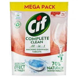 Cif Complete Clean Regular 70% Naturally 70ks tablety do umývačky riadu