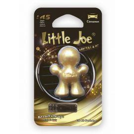 Little Joe 3D Metallic Cinnamom osviežovač vzduchu do auta