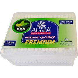 Abella Eco Premium vatové tyčinky v boxe 200ks
