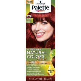 Palette Natural Color Creme 678 Granátovo červený farba na vlasy    končí