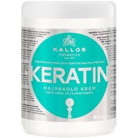 Kallos Hair Mask Keratín maska na suché, poškodené vlasy 1000ml