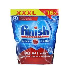 Finish tabs All in1 Max 76ks Soda do umývačky riadu