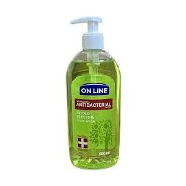 ON LINE Tea Tree,Lime Antibakteriálne tekuté mydlo 500ml pumpa