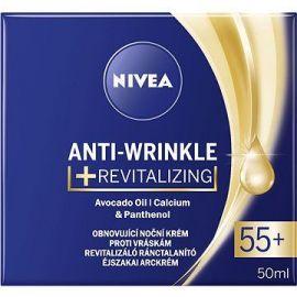 Nivea Anti-Wrinkle krém 55+ nočný obnovujúci krém proti vráskam 50ml 81282