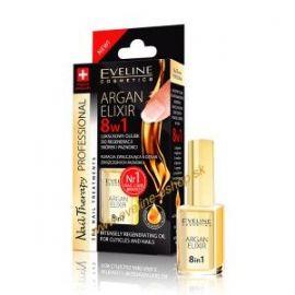 EVELINE Argan elixir olejček 8v1 na nechty 12ml