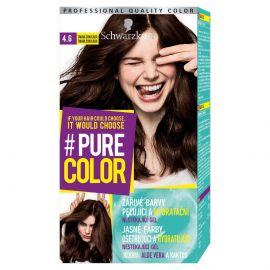 Schwarzkopf Pure Color 4.6 Tmavá čokoláda farba na vlasy