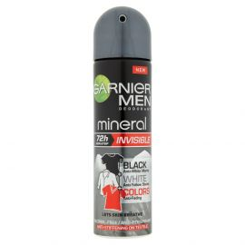 Garnier Men Mineral Black & White & Color deo 150ml