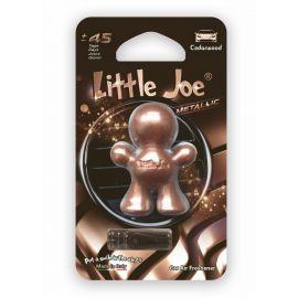 Little Joe 3D Metallic Cedarwood osviežovač vzduchu do auta