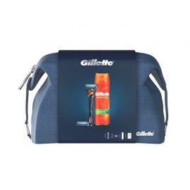 Gillette Fusion kazeta holiaci strojček, gél na holenie 200ml