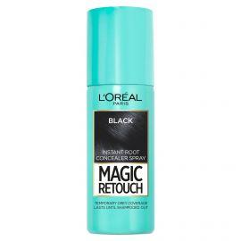 Loreal Magic Retouch 1 Black sprej na okamžité zakrytie odrastov 75ml