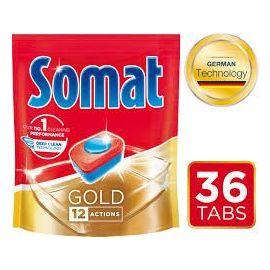Somat Gold 12 actions 36ks tablety do umývačky riadu