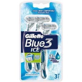 Gillette Blue3 jednorázový strojček 3ks Cool