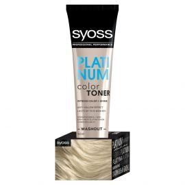 Syoss Color Toner Platinový 150ml dočastná intenzívna farba na vlasy