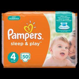 Pampers S&P  VP 4  Maxi  50ks 9-14kg