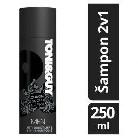 Toni & Guy Men šampón a kondicionér proti lupinám Anit-dandruff 2v1 250ml