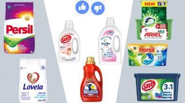 Prášok, kapsule alebo gél - čo používať na pranie?